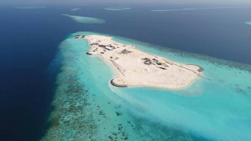 馬爾地夫空中環礁之旅